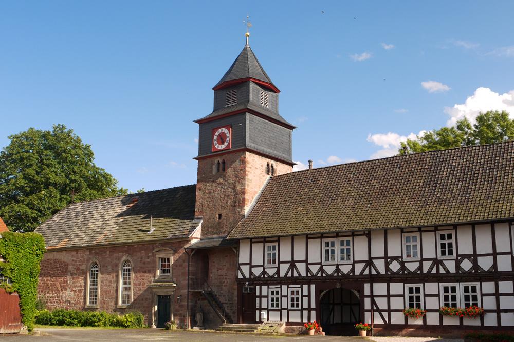 Patronatskirche Völkershausen